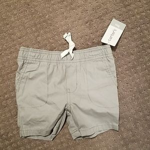 NWT Carter's grey shorts